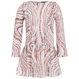 Paul Smith Junior Cream Swirl Print Dress