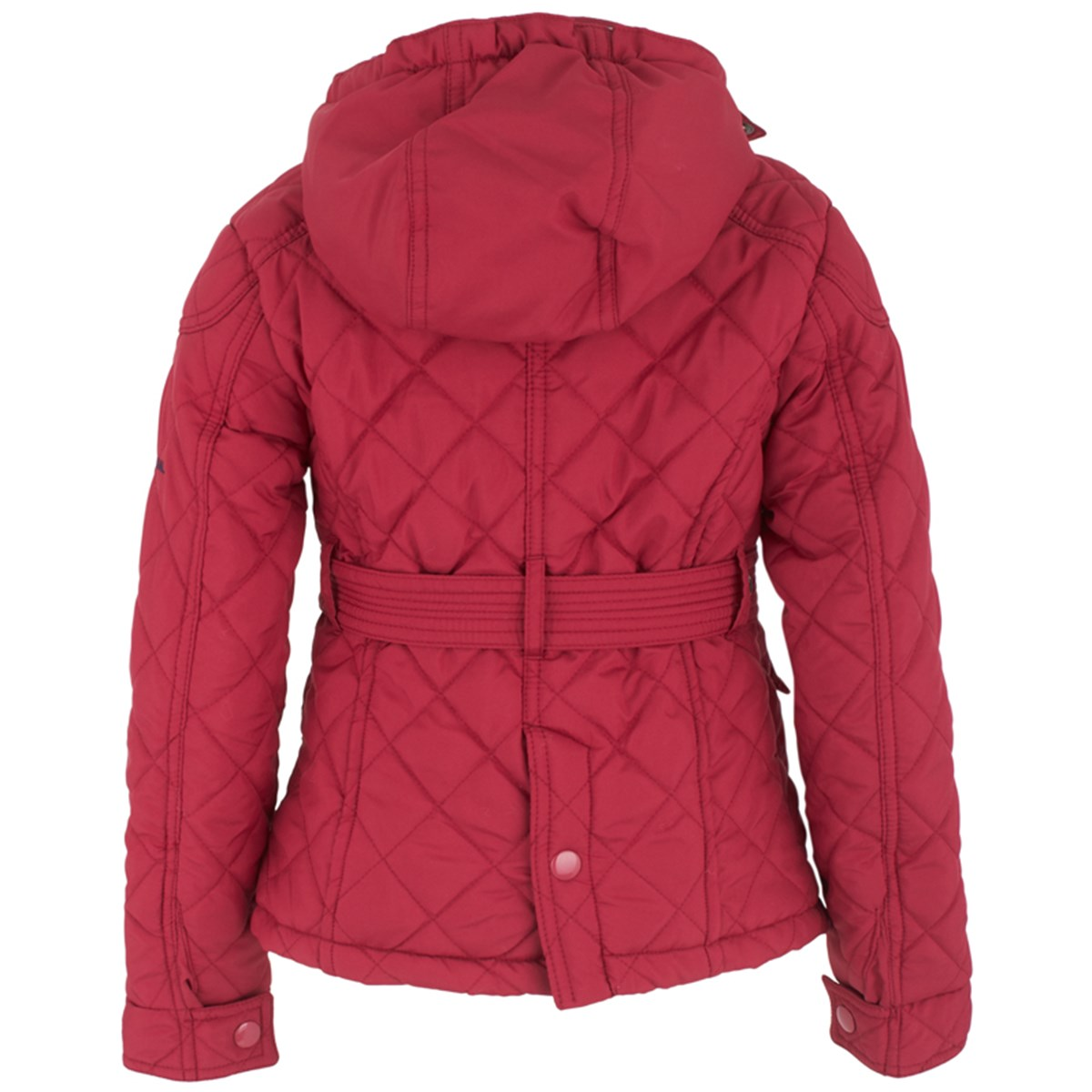 42a33f9d8 Harry Hall Red Lyndale Quilted Belted Jacket