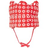 Sterntaler Red Fleece Crown Shaped Hat