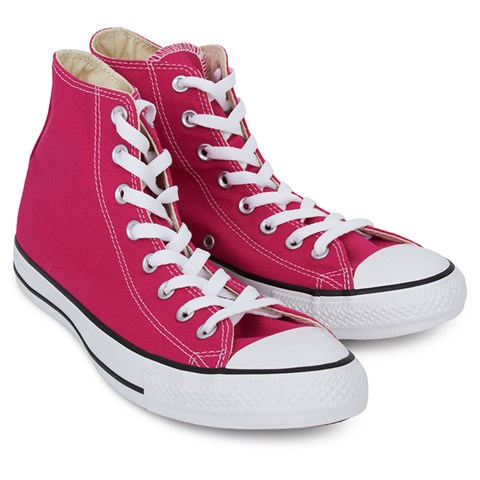 Pink Hi Top Trainers