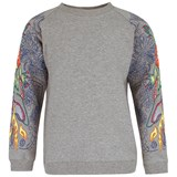 Anne Kurris Crocodile Embroidered Sweatshirt