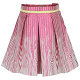 Preen Mini Pink Box Pleat Skirt