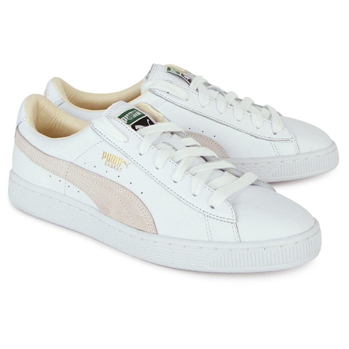 Puma Basket Classic Trainers White