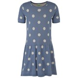 FUB Polka Dot Intarsia Dress