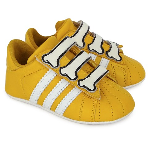 Jeremy Scott Bones Crib Shoes