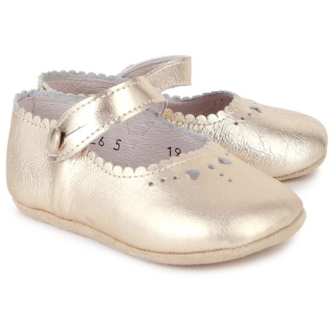 Start-rite Baby Kate Gold Mary Janes