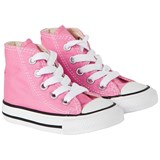 Converse Pink Chuck Taylor All Star Hi Top Trainers