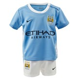 Manchester City FC Official 2015/16 Infants Home Kit
