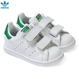 adidas Originals White Stan Smith Velcro Trainers