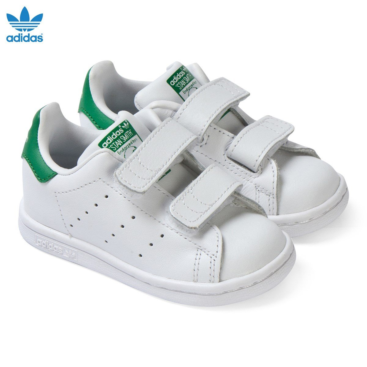 adidas originals white stan smith velcro trainers alexandalexa. Black Bedroom Furniture Sets. Home Design Ideas