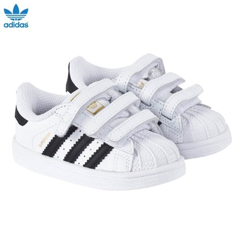 ADIDAS ORIGINALS. SUPERSTAR VELCRO TRAINERS