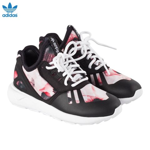 floral adidas trainers