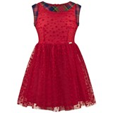 Junior Gaultier Red Tulle Party Dress