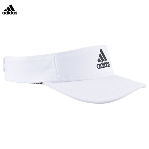 adidas White Climalite Training Visor