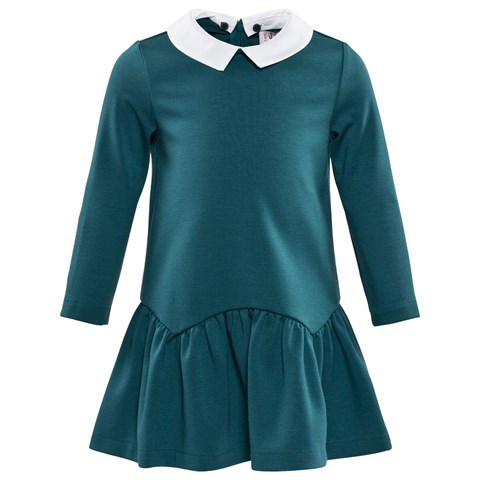Il Gufo Teal Milano Dress