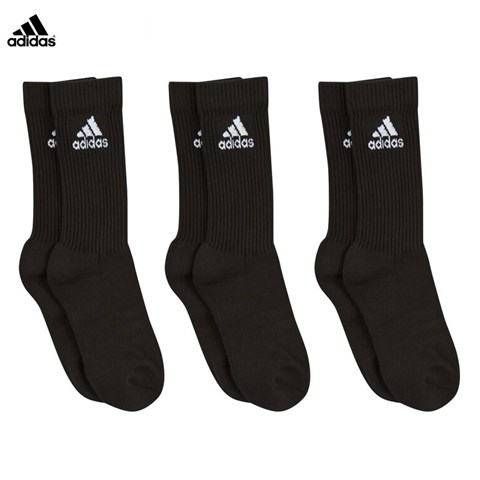 3 Pack of Cotton Crew Socks