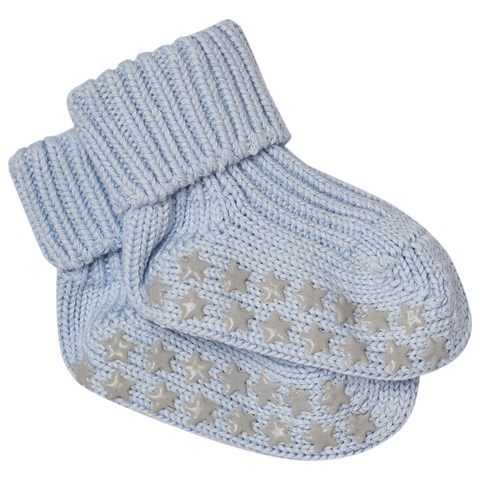 Powder Blue Baby Socks