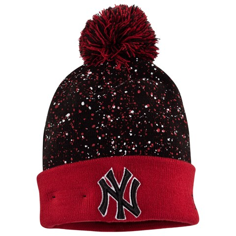 New York Yankees Speckled Bobble Beanie