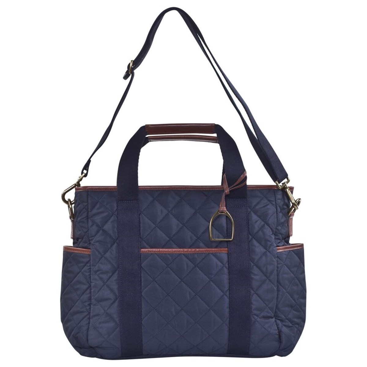 8a9eb2c117c5 Ralph Lauren Navy Quilted Changing Bag