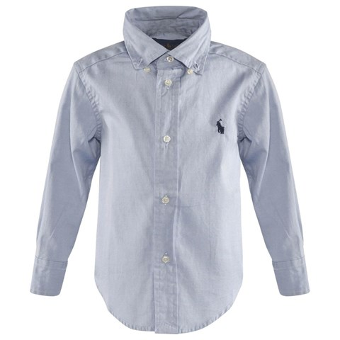 Blue Classic Pinpoint Oxford Shirt