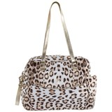 Loredana Lòlò Brown Leopard Print Baby Changing Bag Mat 42cm Childrensalon Outlet