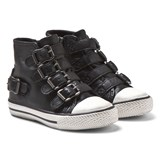Ash Shoes Black Fanta Hi Top Trainers