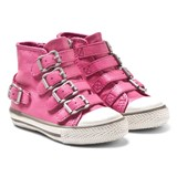 Ash Shoes Pink Fanta Hi Top Trainers