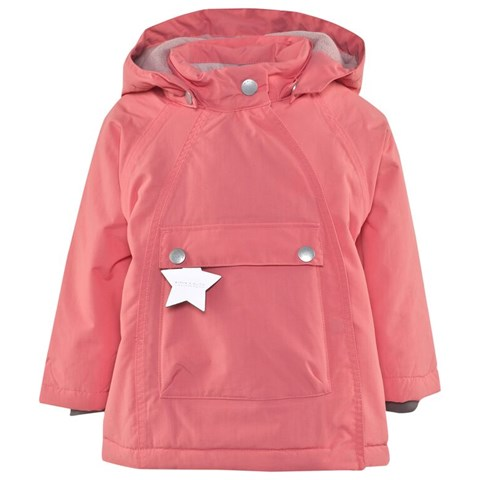 Wang Anorak Pink Coat