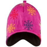 Isbjörn Of Sweden Pink Snowflake Knitted Cap