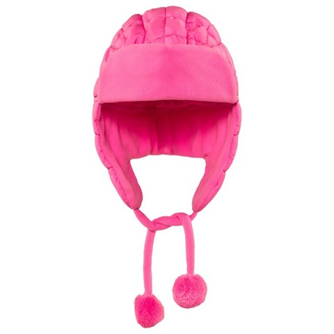 Pink Infant Quilted Chapka Hat