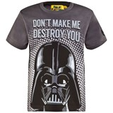 Fabric Flavours Grey Darth Vader Tee