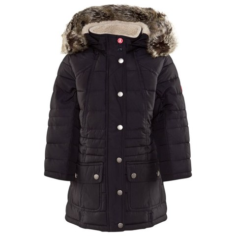 8ffa4f29b7e68 Barbour Navy Landry Long Quilt Coat | AlexandAlexa
