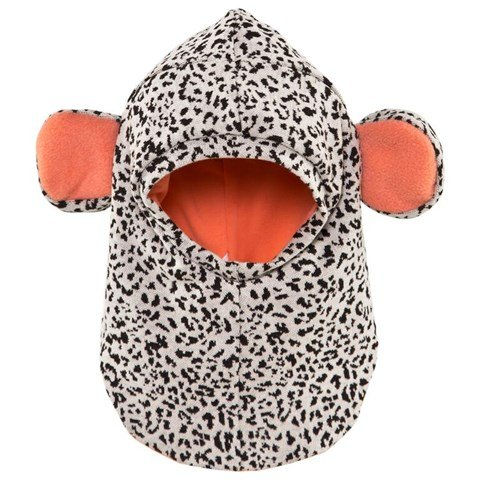 Bang Bang Copenhagen Black And White Leopard Balaclava With Ears
