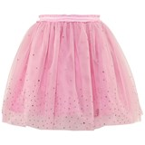 Miss Blumarine Pink Tulle Jewelled Skirt
