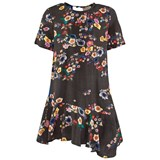 Preen Mini Black Multi Floral Dress