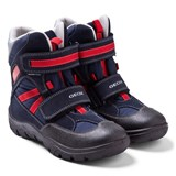 Geox Frosty Boy Waterproof Navy Snow Boot