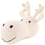 Anne-Claire Petit Cream Plush Stag Head