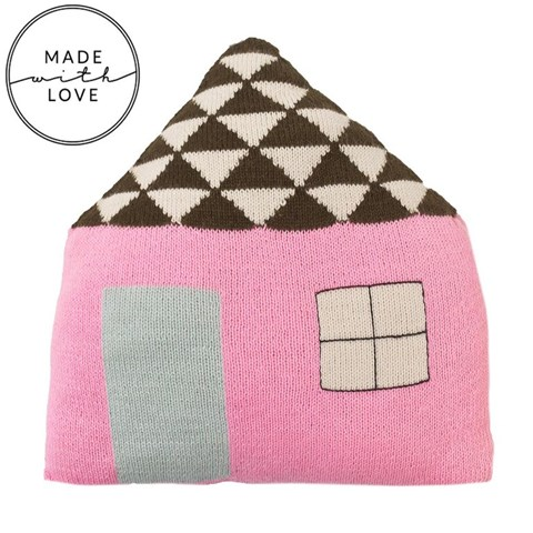 Lucky Boy Sunday Pink Favourite Place House Cushion