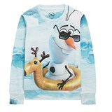 Little Eleven Paris Blue Frozen Olaf Sweatshirt