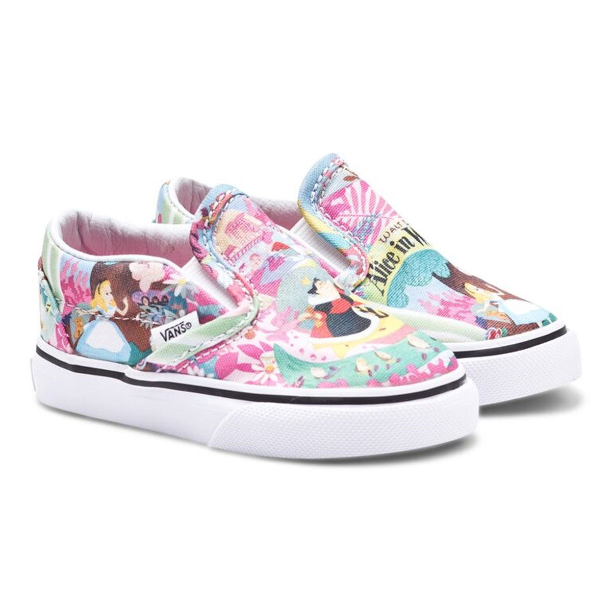 f7927fcef2f Vans Disney Alice in Wonderland Slip On Trainers