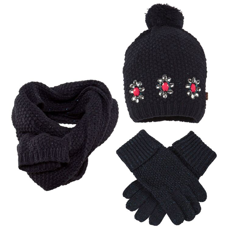 b8596be30e9 Billieblush Knitted Winter Accessories Set