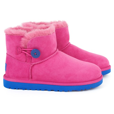 UGG Pink Contrast Bailey Boots