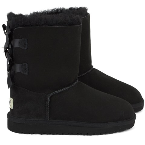 UGG Black Bow Bailey Boots