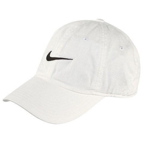 White New Swoosh Heritage Adjustable Cap