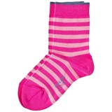 Falke Pink Stripe Short Socks