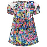 Anne Kurris Multi Scribble Graphic Print Dress