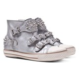 Ash Shoes Silver Hi-Tops