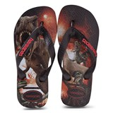 Havaianas Kids Black Kids Jurassic World Flip Flops