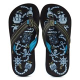 Reef Glow-in-the-Dark Treasure Map Ahi Sandals