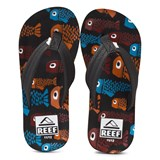 Reef Fish Print Ahi Sandals